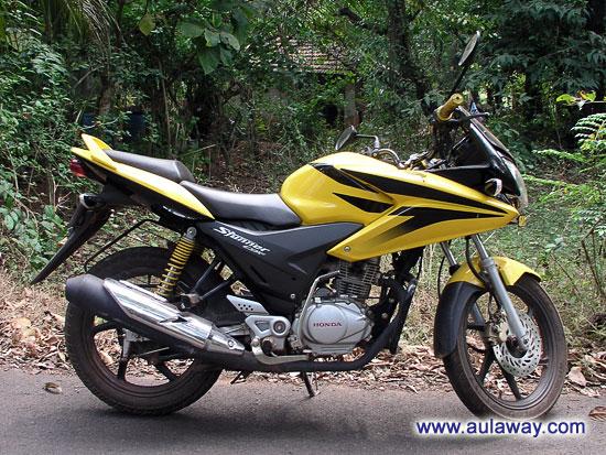 Моё Honda CBF Stunner