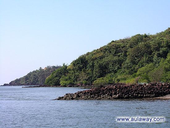Ещё одна фотография с бесподобного круизного лайнера в заливе индийских вод