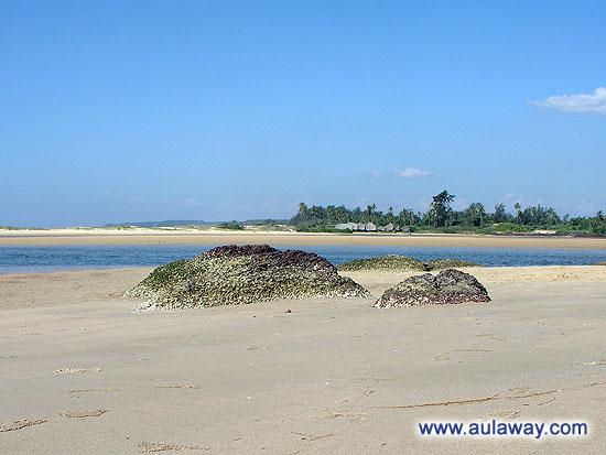 Еще одна фотка пляжа. Индия. Гоа