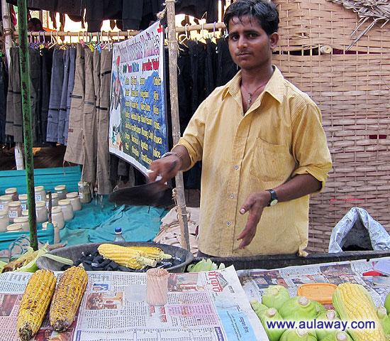 Повелитель кукурузы. Точнее мастер приготовления оной.