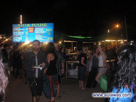 Ночной рынок в Арпоре (Saturday night market, Ingos Saturday Nite Bazaar). Еще один его кусочек.