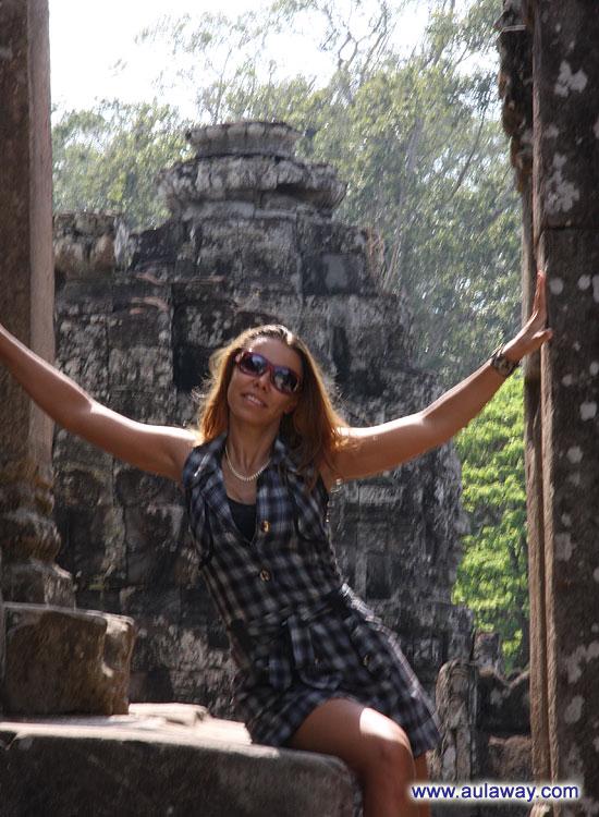 Анкор Ват. Камбоджия