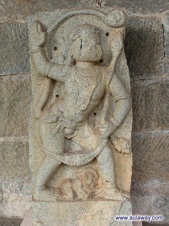 Галерея богов в Хампи