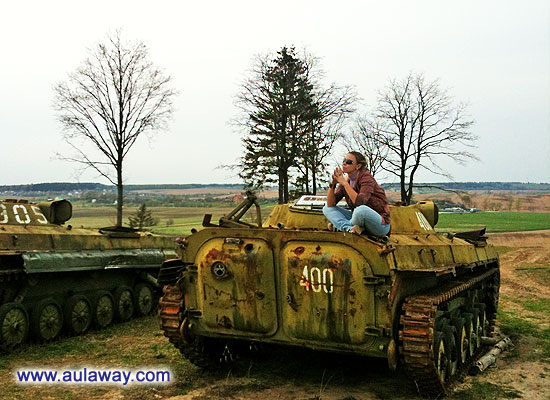 Медитация на танке