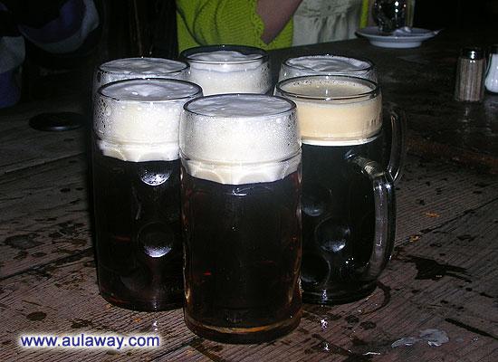 Пиво в замке Детинице. Чехия