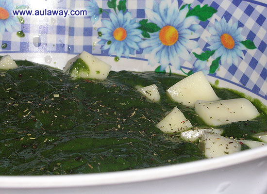 Palak Paneer (Spinach & Cottage Cheese)