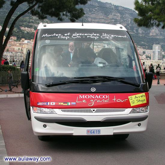 Автобусы в Монако. Да ... это был сюрприз.