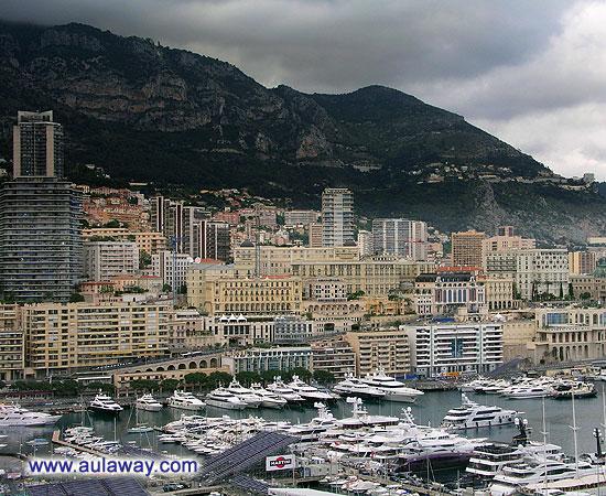 Вид на Монте-Карло.