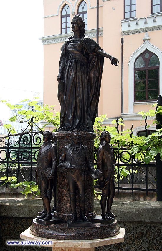 Скульптурная композиция «Памятник одесскому читателю»