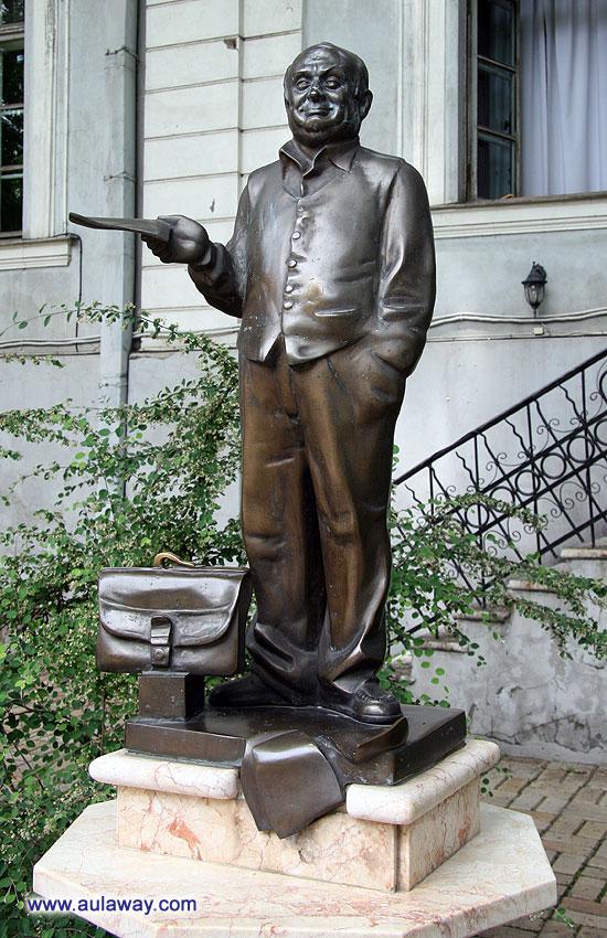 Скульптурная композиция «Ты одессит, Миша»