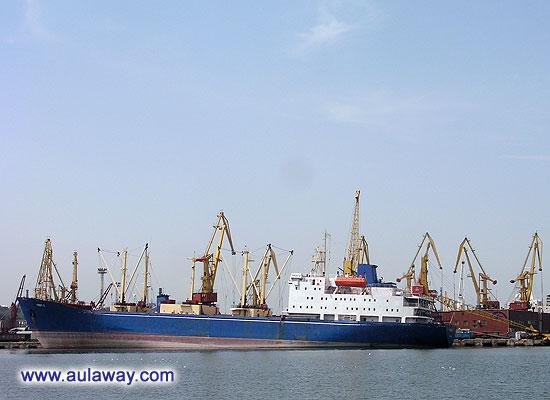 В порту Одессы
