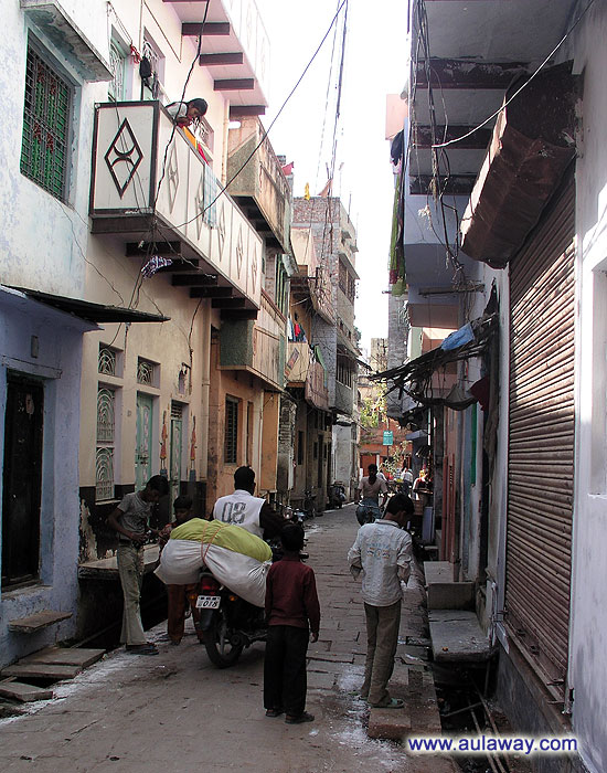 Улицы Варанаси