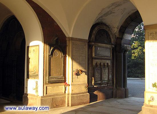 Очень странный в него вход. Место в центре Милана.