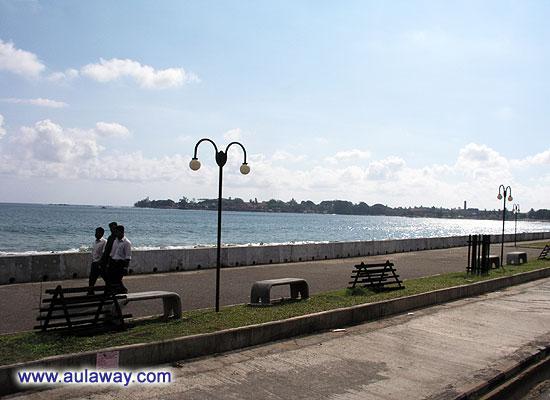 Вдоль южного побережья острова Цейлон.