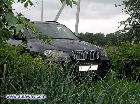 Парковка для машины. В грядках с луком.