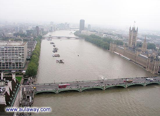 Глаз Лондона. Колесо обозрения. Достопримечательности Лондона.