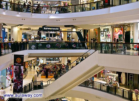 Торговый центр в Паттае. Тайланд.