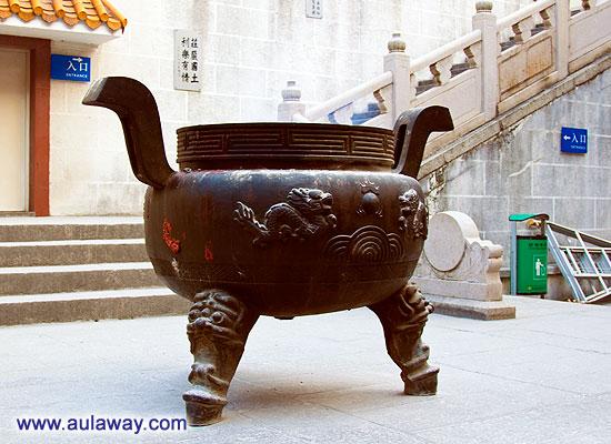 В Китайском монастыре.