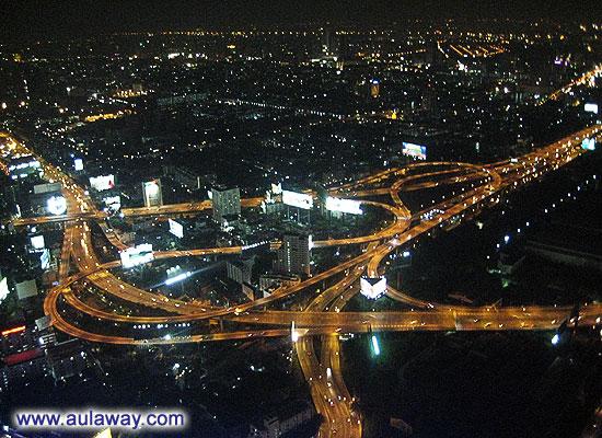 Photos from the bayok sky in Bangkok. Life at 68 floor