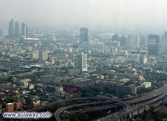 Фотографии с байок скай в Бангкоке. Жизнь на 68 этаже.