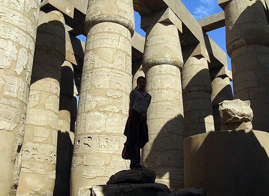 Дело было в Египте.