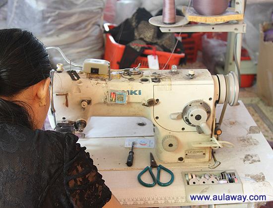 Визит на Китайскую фабрику женского белья.