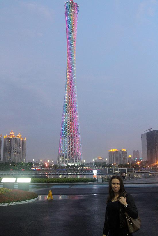 Фото вечернего Гуанчжоу