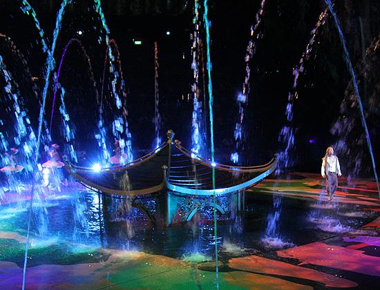 Dancing Water. Цирк танцующей воды.