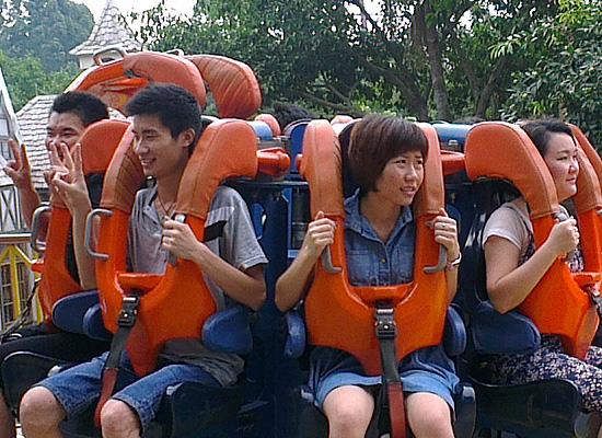 Парк развлечений Нан Ху Гуанчжоу