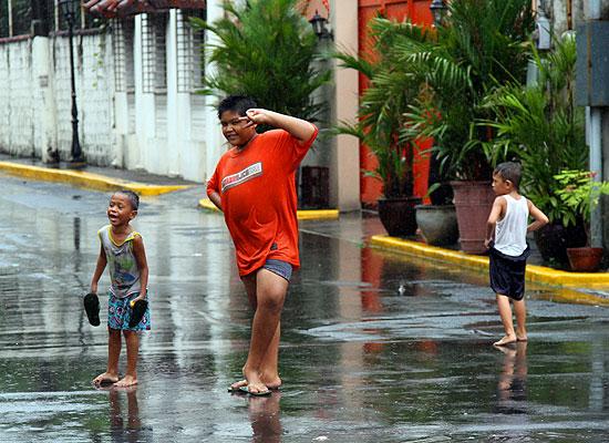Дети на Филиппинах
