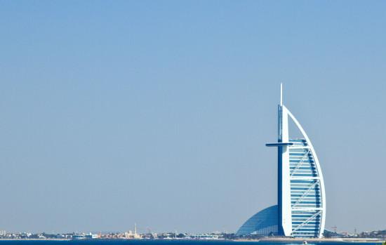 Дубаи - на пальме с фоном паруса )