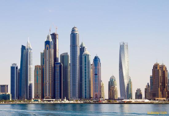 Город у воды, Дубаи.