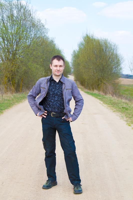 Пасха в белорусской деревне.